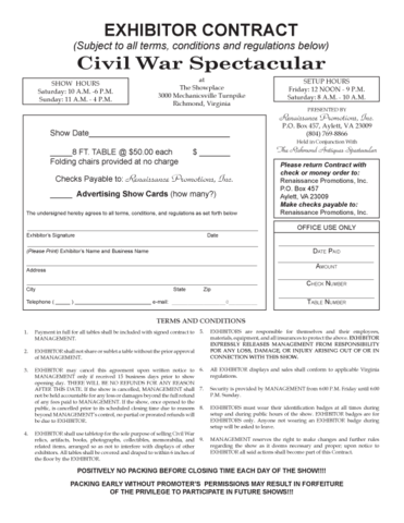 War Contracts