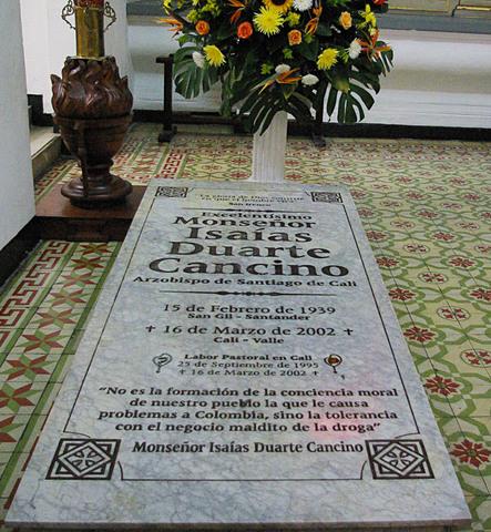 Muerte de Monseñor Duarte Cancino.