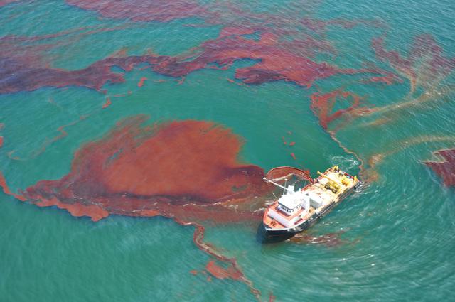 British Petroleum Deepwater Horizon Oil Rig Spill