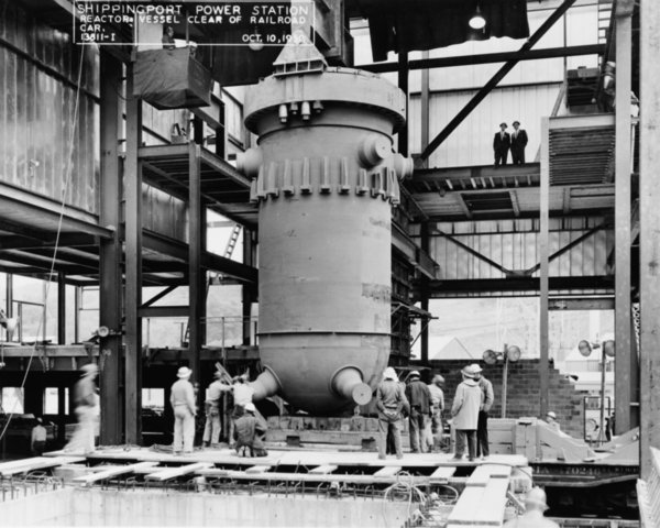 Shippingport Nuclear Power Plant Begins Operation