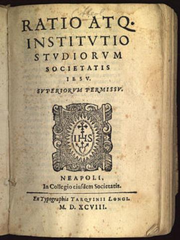 El Ratio Studiorum