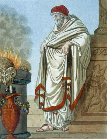 Se instituye el cargo de Pontifex Maximus