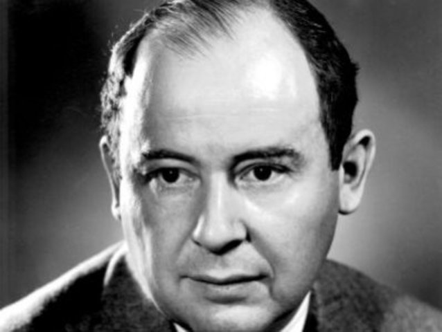 Джон фон Нейман (John von Neumann), разработчик цифровых компьютеров