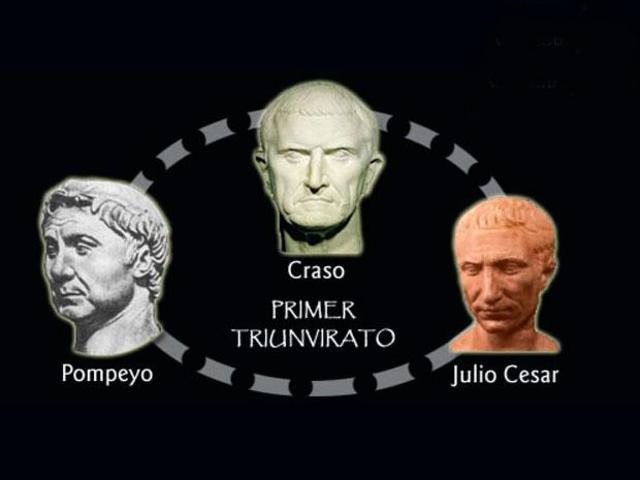 """""""Primer Triunvirato"""""""