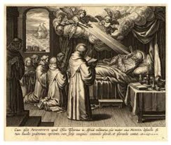 Fallece san Agustín