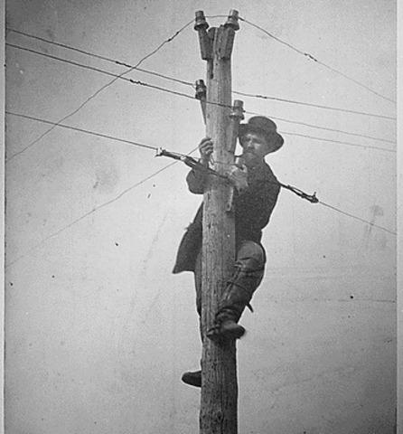 Creación de líneas telegráficas