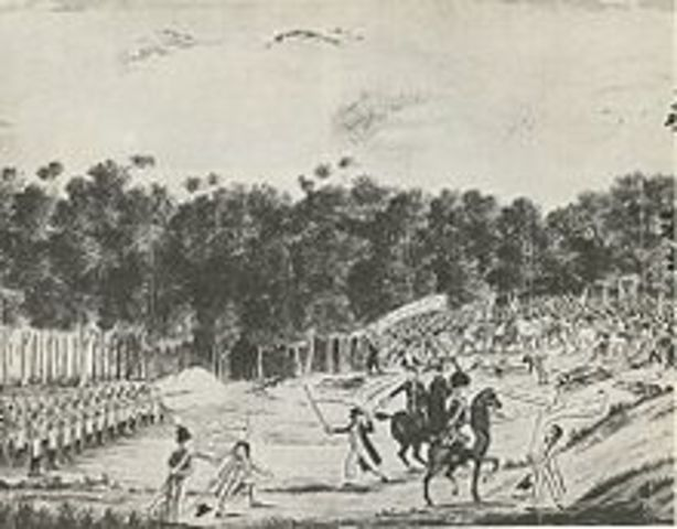 First European Settlement