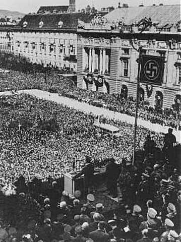 Germany annexed Austria,
