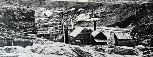 Start of Reef Mining