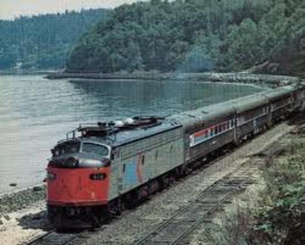 Interurban and Train Collision