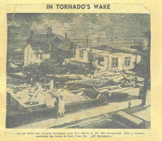 Southwestern Tornadoes