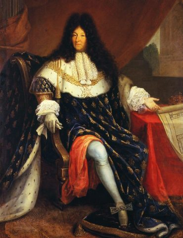 King Louis XIV took back control of New France