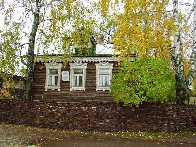 С.А. Есенин родился в селе Константиново Кузьминской волости Рязанского уезда