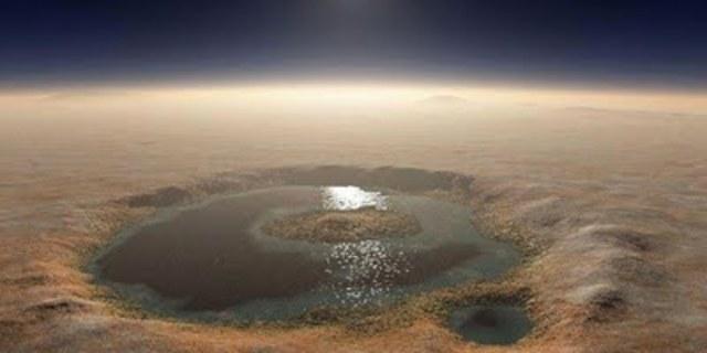 Descubrimiento de agua en Marte