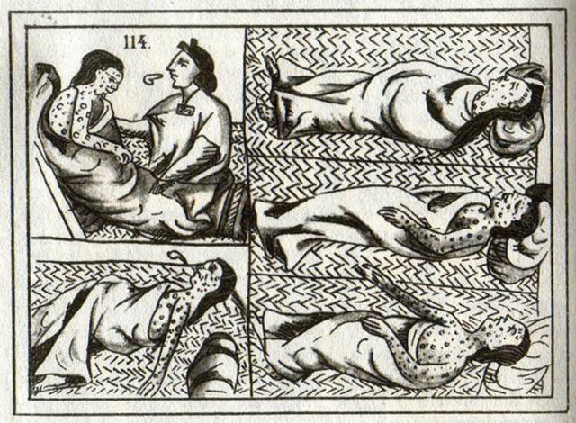 Outbreak of Disease in the Amerindian Population