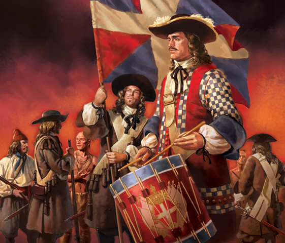 1200 soldiers of the Carignan-Sallières regiment are immigrated to New France