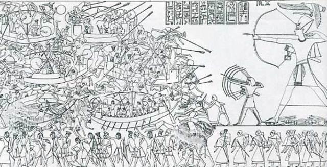 Los Pueblos del Mar (Borja y Historia del Antiguo Egipto)