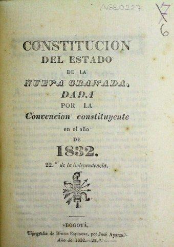 Constitución de 1832
