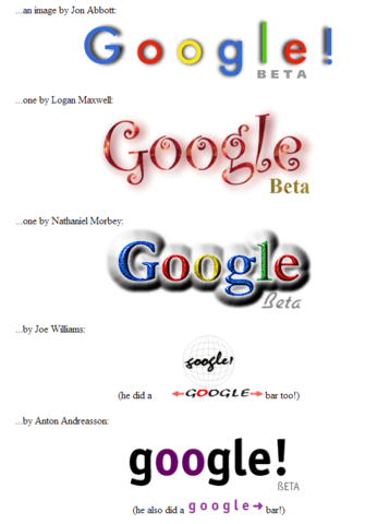 stickers de google