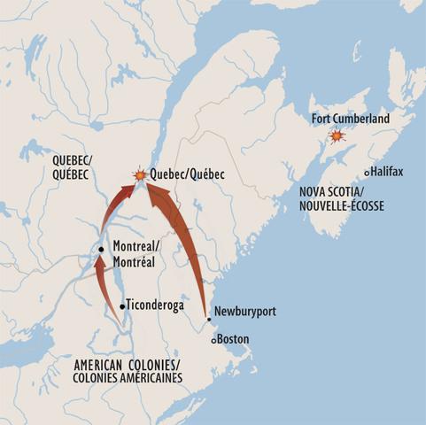 Abortive Canada Conquest, 1775