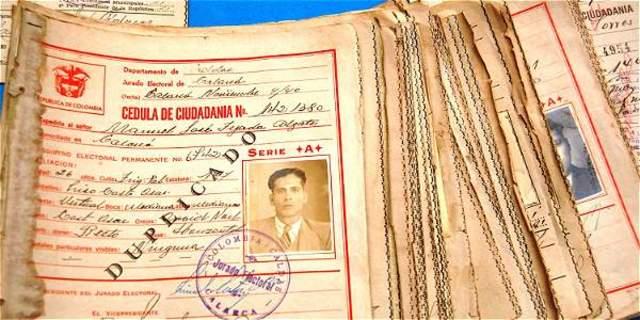 Implantación de la Cédula de Ciudadanía