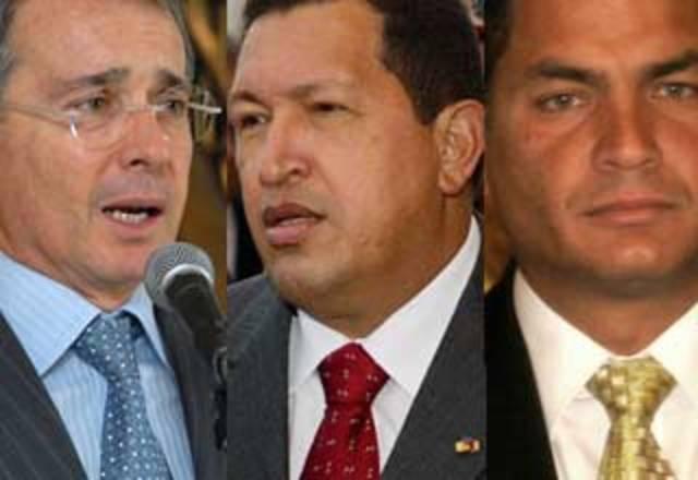 Crisis diplomática de Colombia con Ecuador y Venezuela