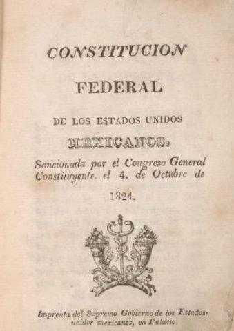 1824, México