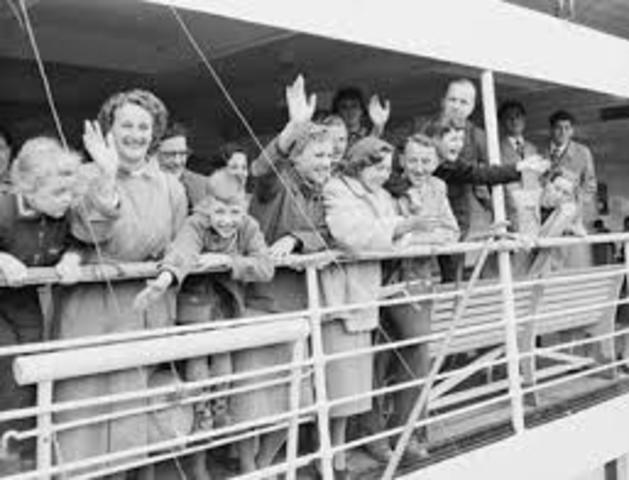 Immigration after 1950