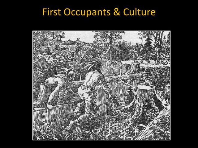 First Occupants