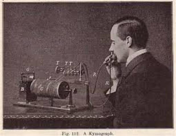 Primer quimógrafo