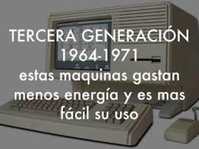 FINAL DE LA 3° GENERACIÓN