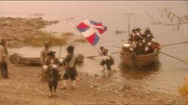 Arrival of the Carignan-Salières regiment