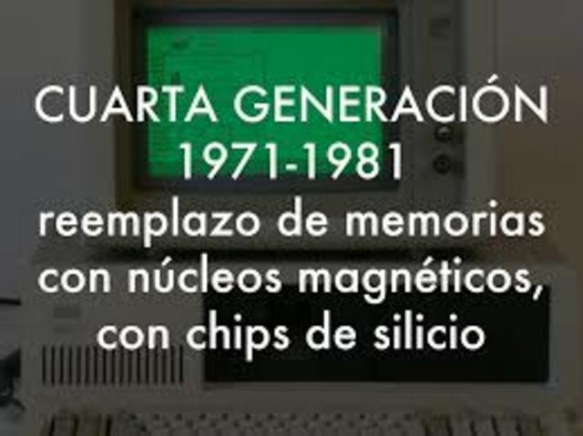 FIN DE LA 4° GENERACIÓN