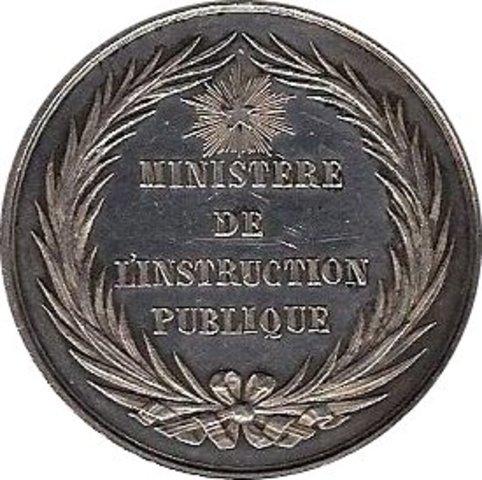 Ministère Instruction publique