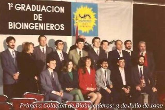 Graduación de los Primeros Bioingenieros