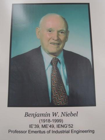 Benjamin W. Niebel