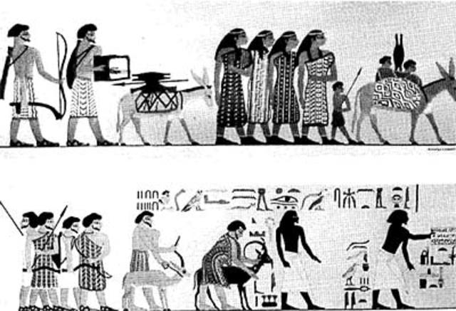 Hebreos esclavos en Egipto