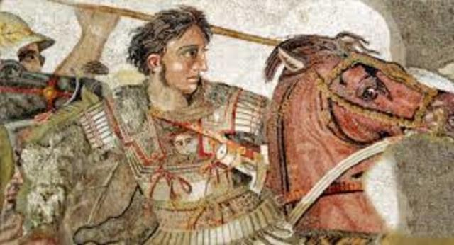 Alejandro Magno de Macedonia conquista Egipto
