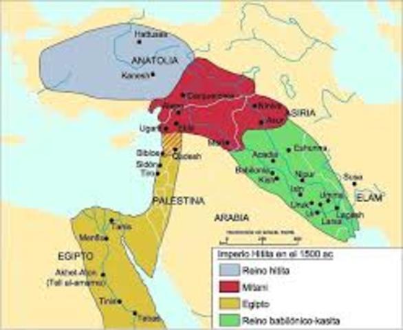 Egipto contra Mitanni