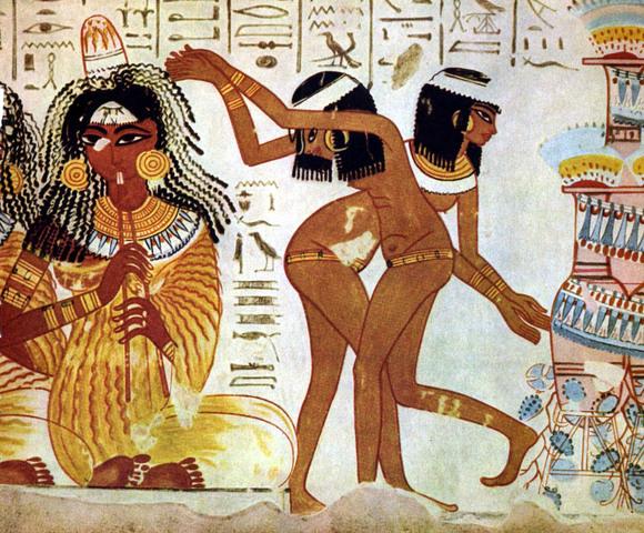 Imaginario negro de Egipto