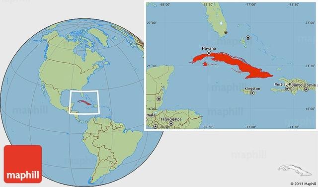 Columbus Reaches Cuba
