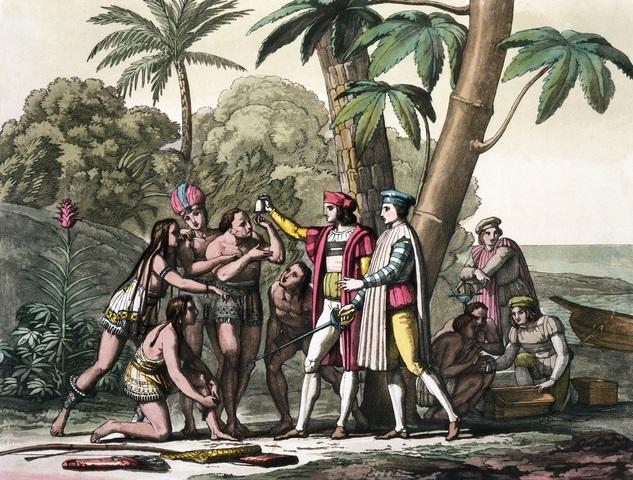 Columbus Finds Hispaniola