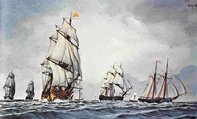 Columbus' Second Voyage Commences