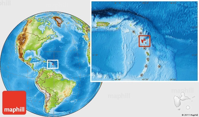 Columbus Spots Dominica and Guadeloupe