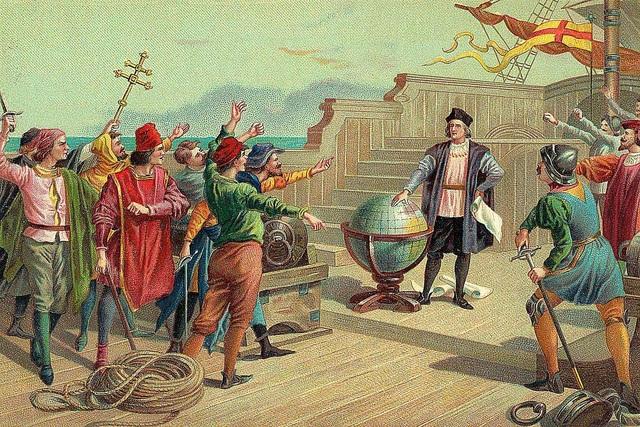 Vespucci Begins His Voyage