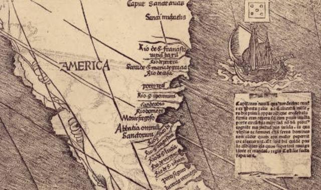 """Amerigo Vespucci Inspires """"America"""""""