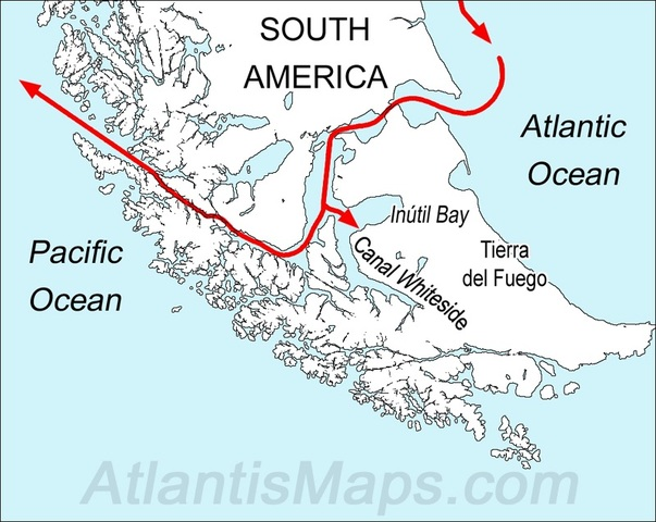 Magellan Enters the Pacific