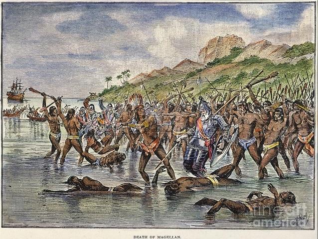 The Death of Magellan