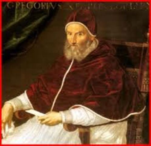 Pope gregory the 1st takes power