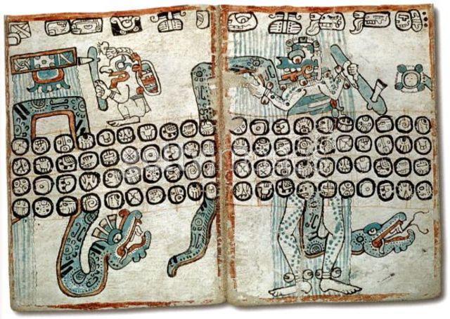 Mayans manufacture bark paper